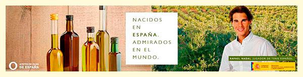 Campaña Aceites de Oliva y Rafa Nadal