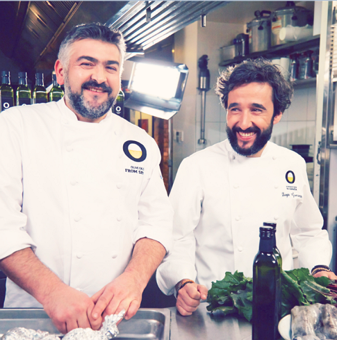 Diego Guerrero y Frank Camorra en The Good Life Embassy
