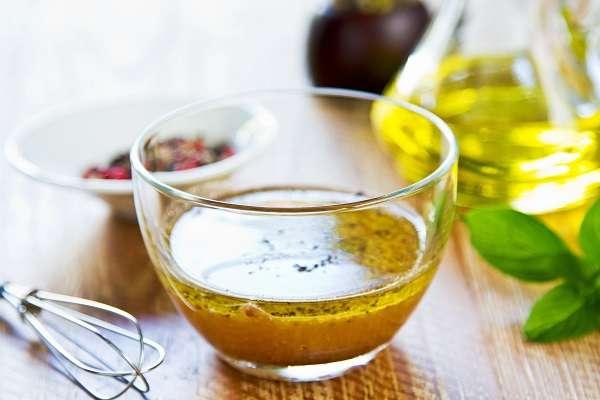 Salsa para ensaladas caseras