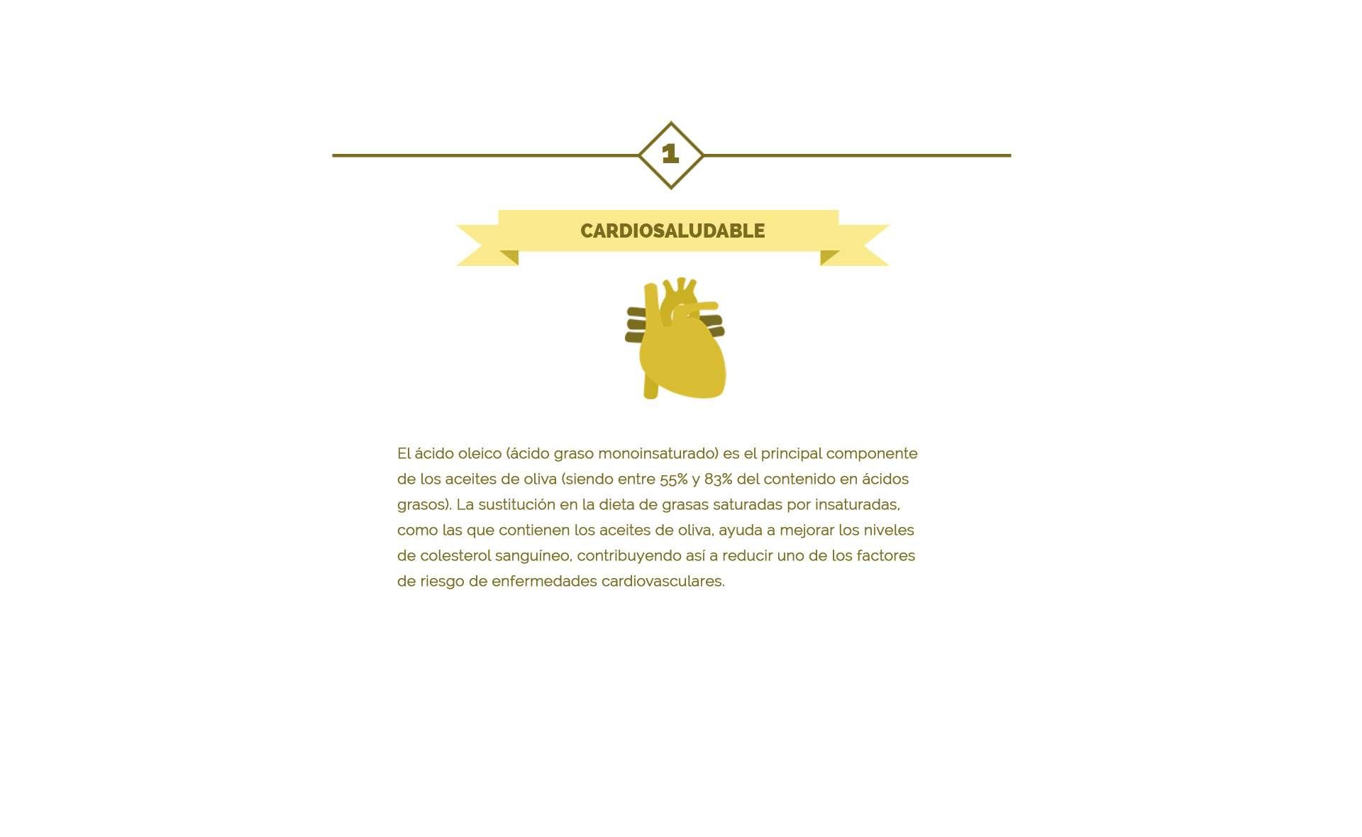 ácido oléico componente del aceite de oliva