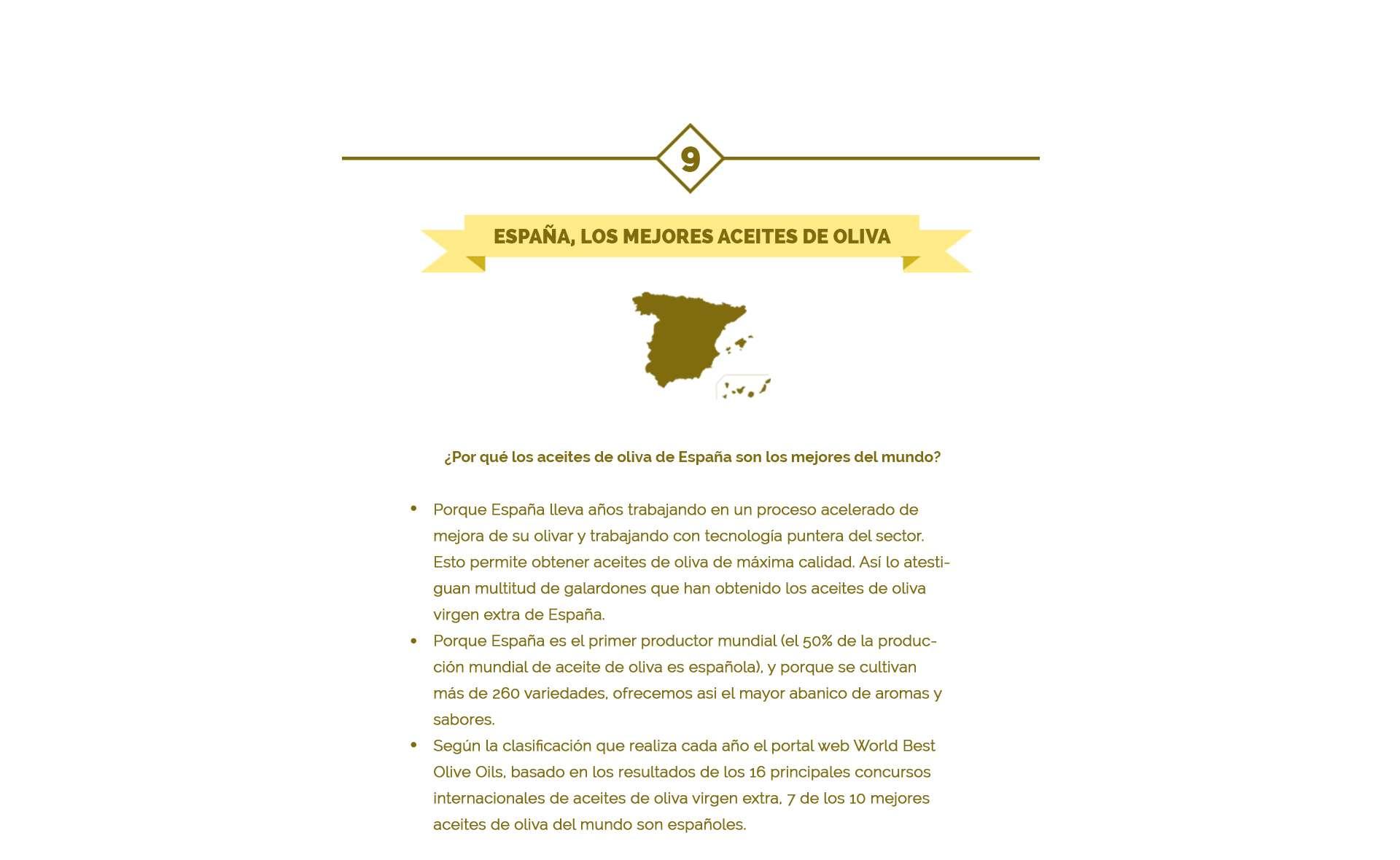 españa los mejores aceites de oliva