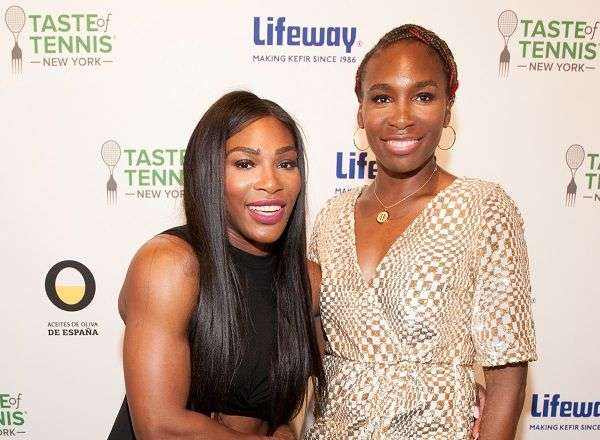 Serena Williams y Venus Williams en Taste of Tennis
