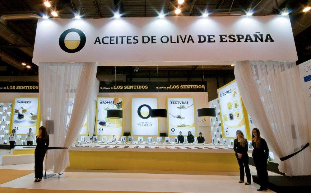 Stand de Aceites de Oliva de España