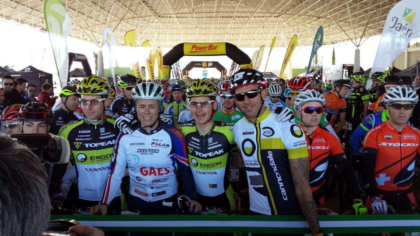 Josef Ajram en Andalucia Bike Race