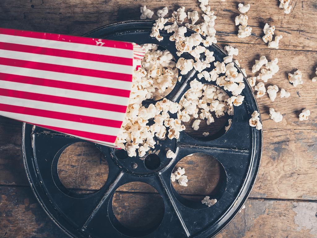 Platos de cine para ver las mejores películas