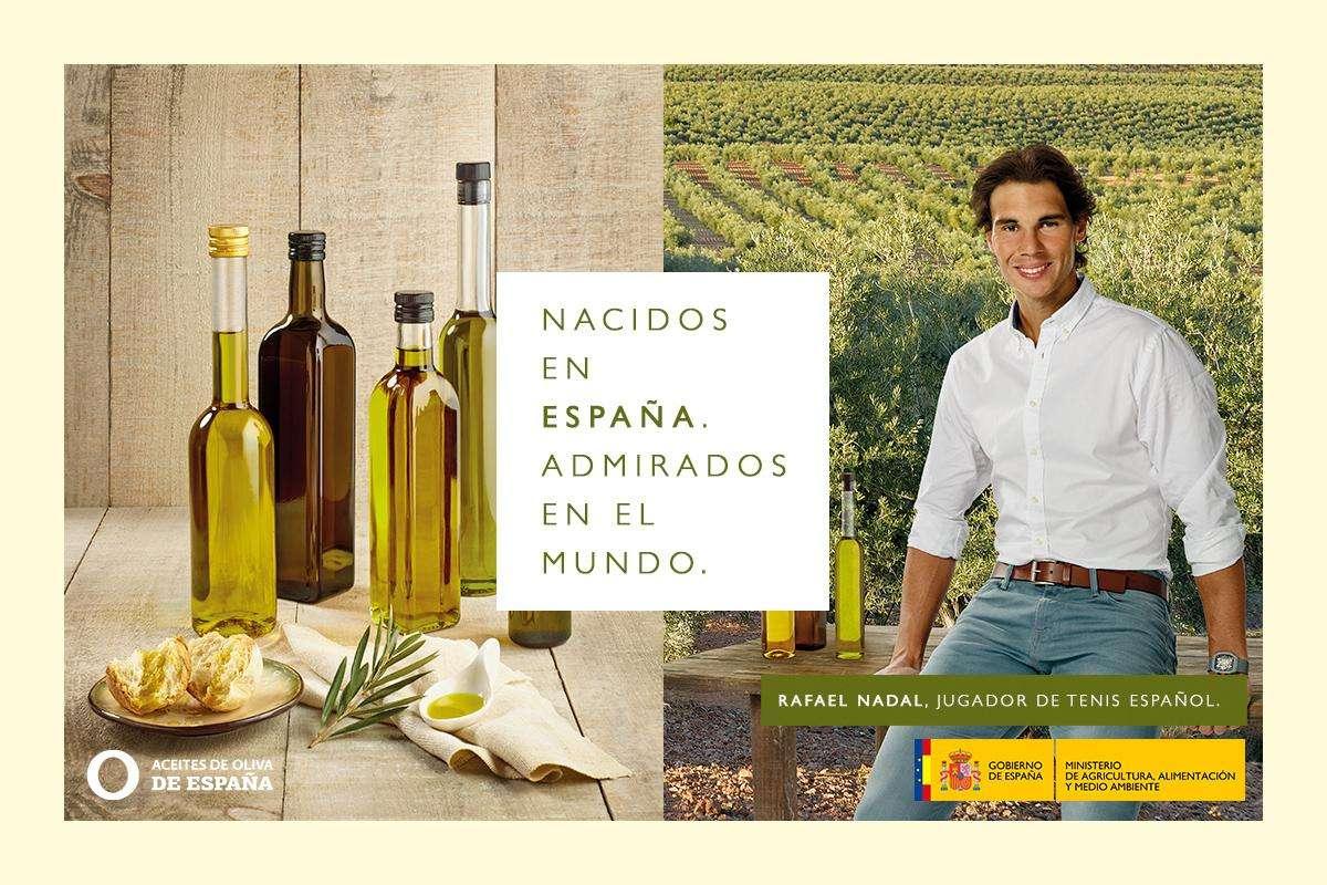 Rafael Nadal, embajador de Alimentos de España