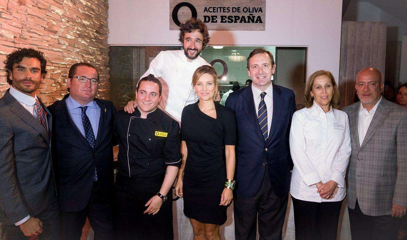 Aceites de Oliva de España abre la embajada de la buena vida en México D.F.