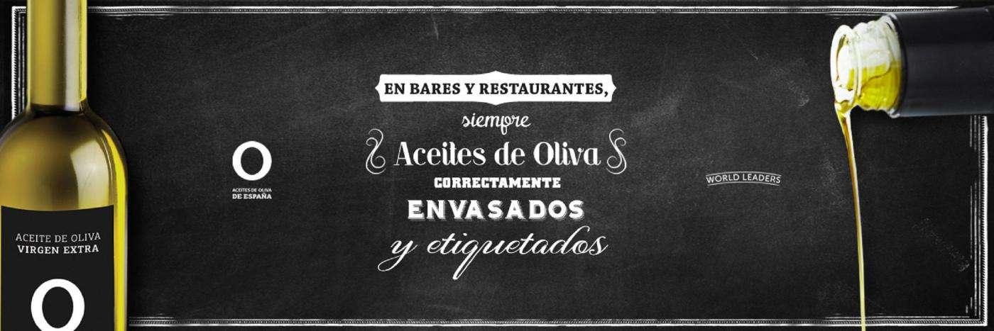 Aceites de Oliva de España ha lanzado la campaña Peeerdona sobre la norma de presentacion de los aceties de oliva en la hostelería