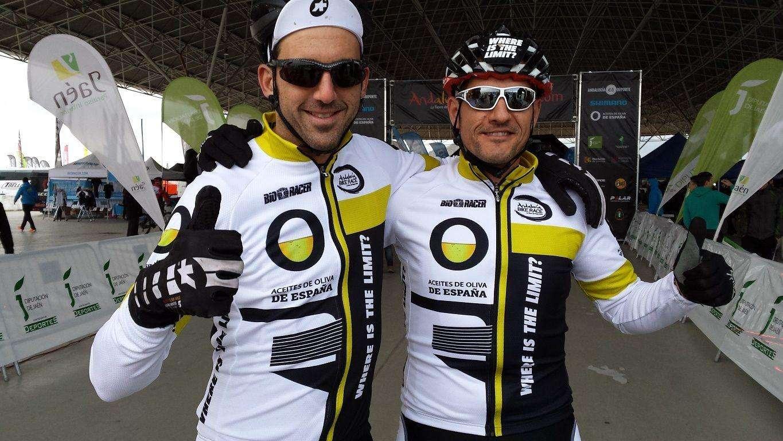 Aceites de Oliva de España Y Josef Ajramen la Andalucía Bike Race 2015