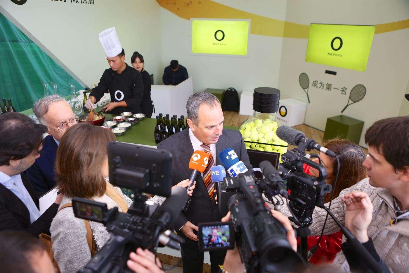 Aceites de Oliva de España y Rafael Nadal unen sus fuerzas en el China Open de Tenis 1