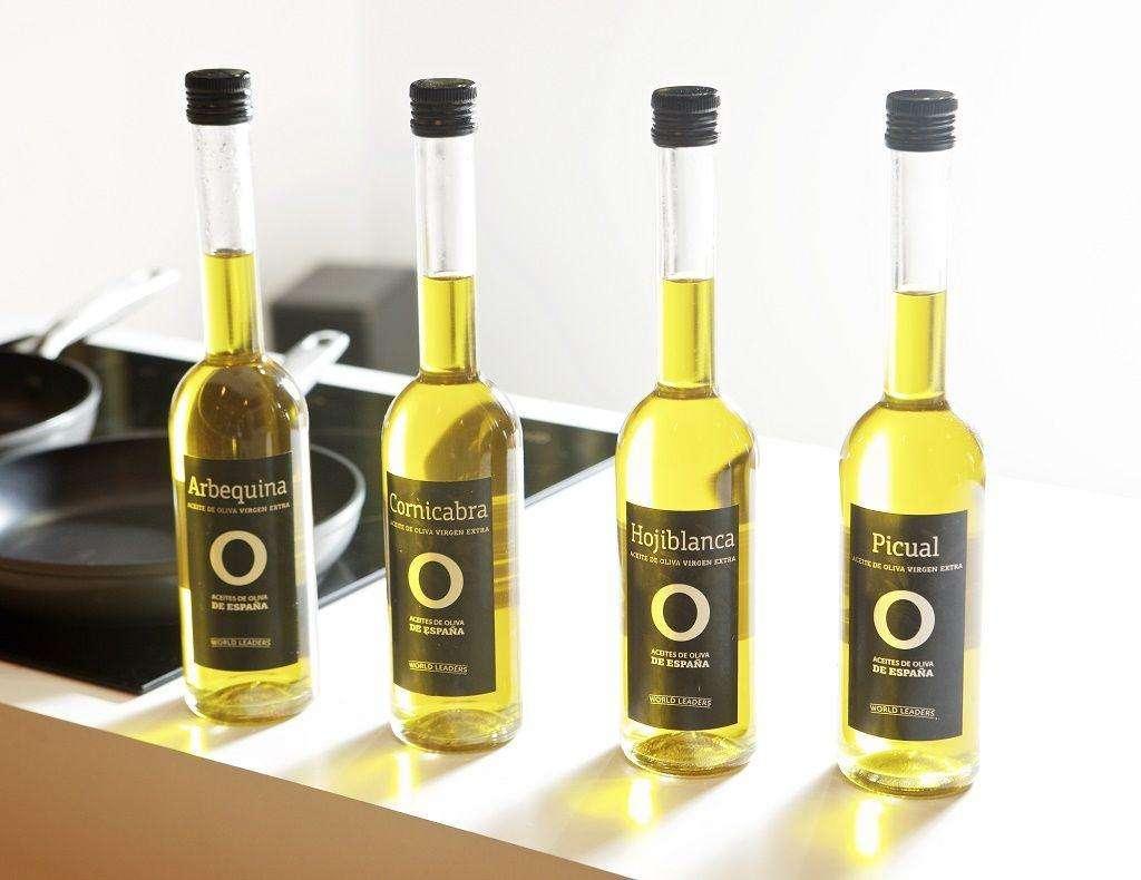 Aceites de Oliva en la cocina