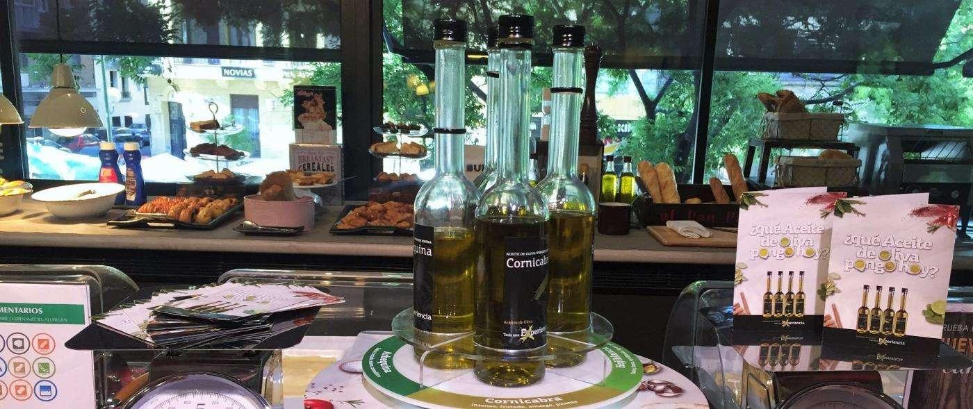 Aceites de oliva virgen extra en salas de restauración