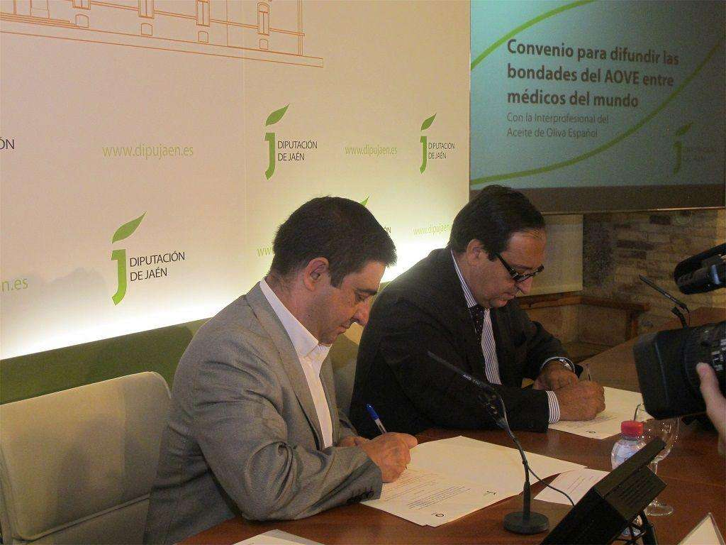 Acuerdo Aceites de Oliva de España y Diputación de Jaén