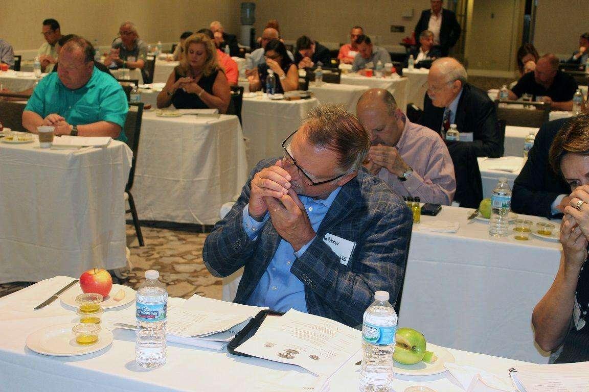 Cata celebrada en The Olive Oil Conference de Chicago