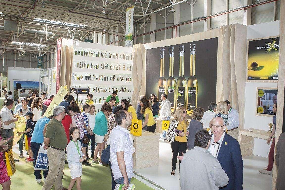 El stand de Aceites de Oliva de España ha sido uno de los más visitados por el público de Expoliva
