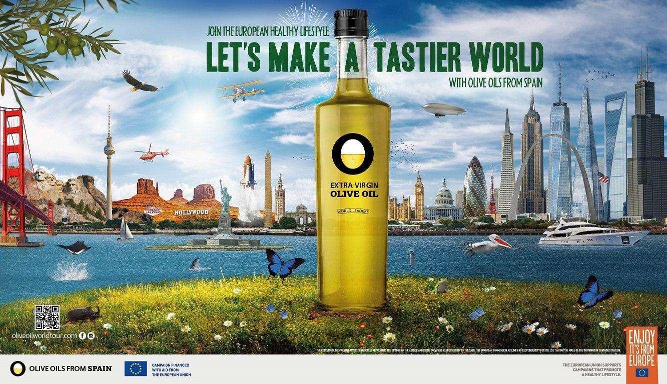 La campaña Olive Oil World Tour inicia su andadura de tres años en Estados Unidos