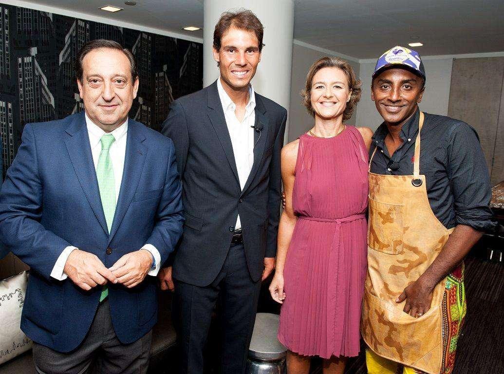Presentaciónde Aceites de Oliva de España en el Taste of Tennis de Nueva York