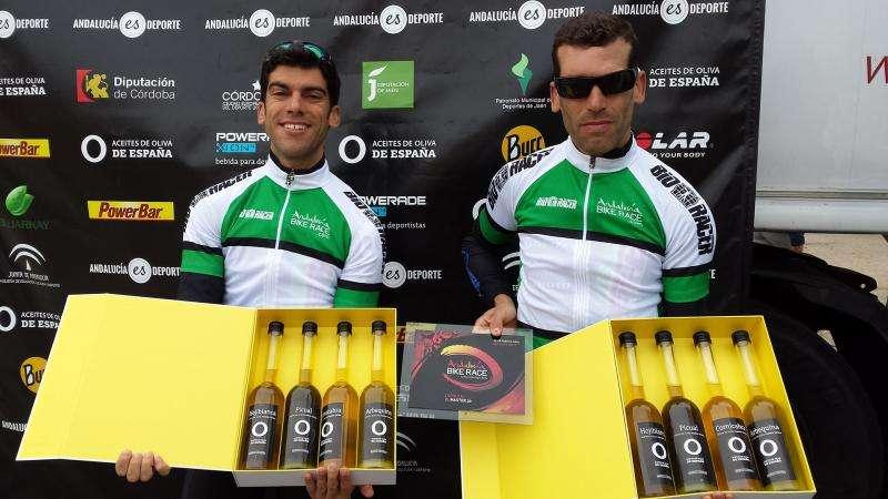 Josef Ajram en Andalucía Bike Race con Aceites de Oliva de España