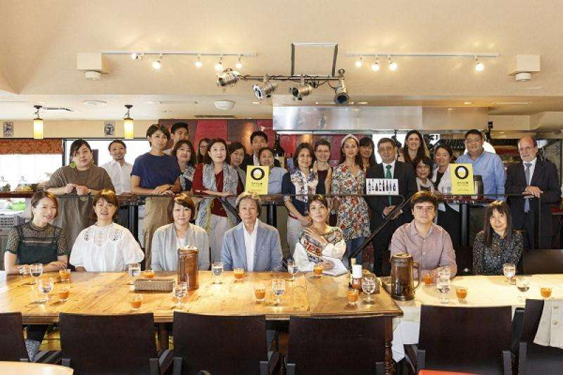 Participantes en la Jornada de Dieta Mediterránea en Tokio