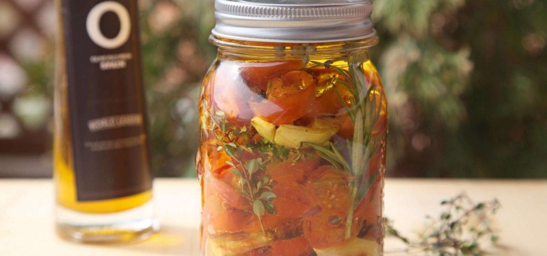 Receta de conserva de tomate cherry