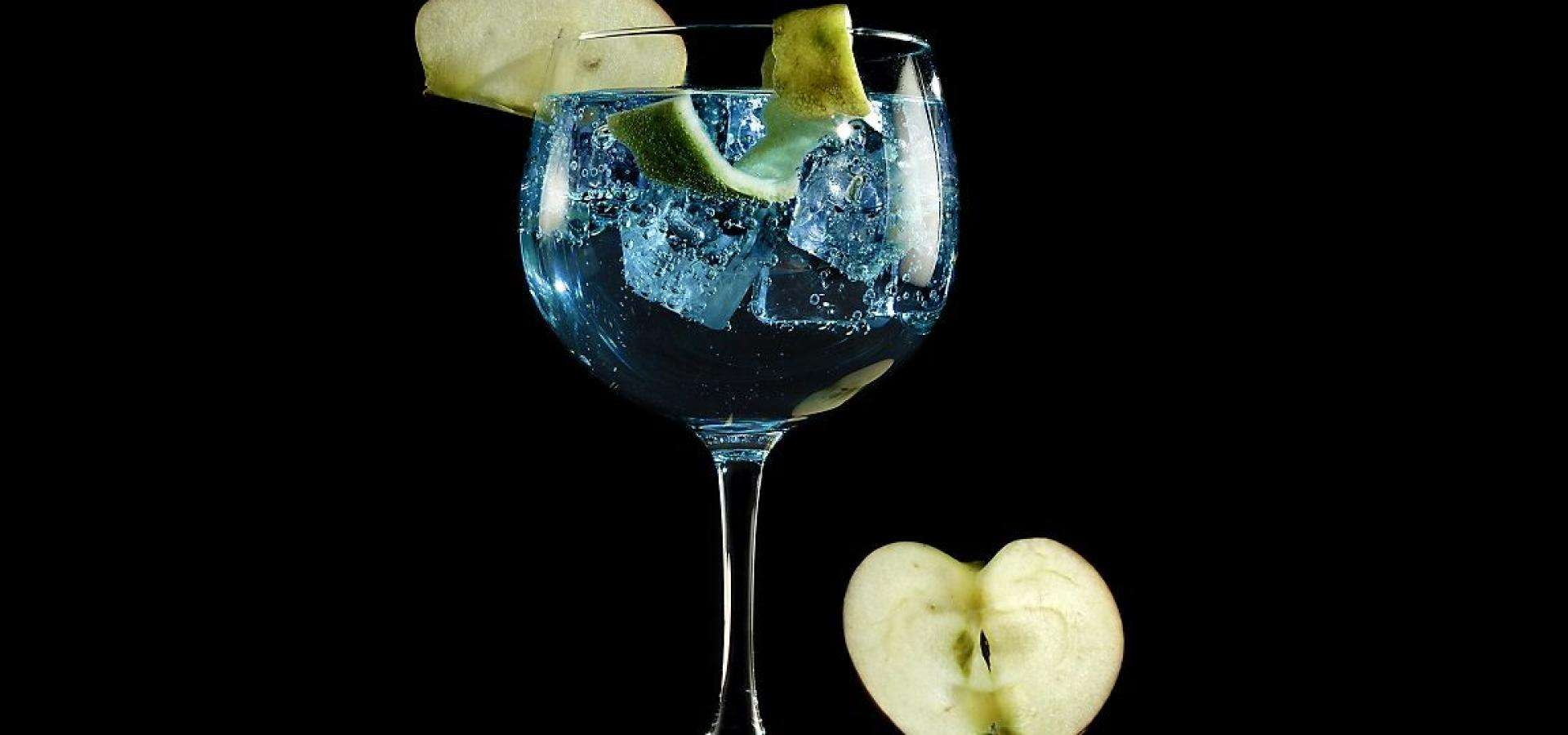 Gin Tonic con aceite de oliva virgen extra arbequina