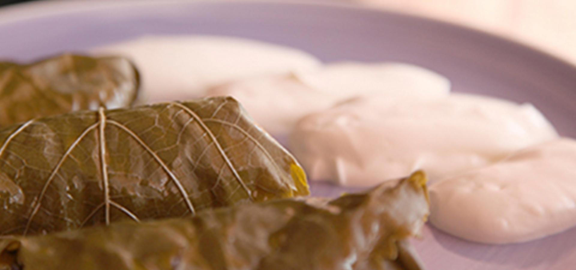 Receta de hojas de parra estilo Daniel Ovadía