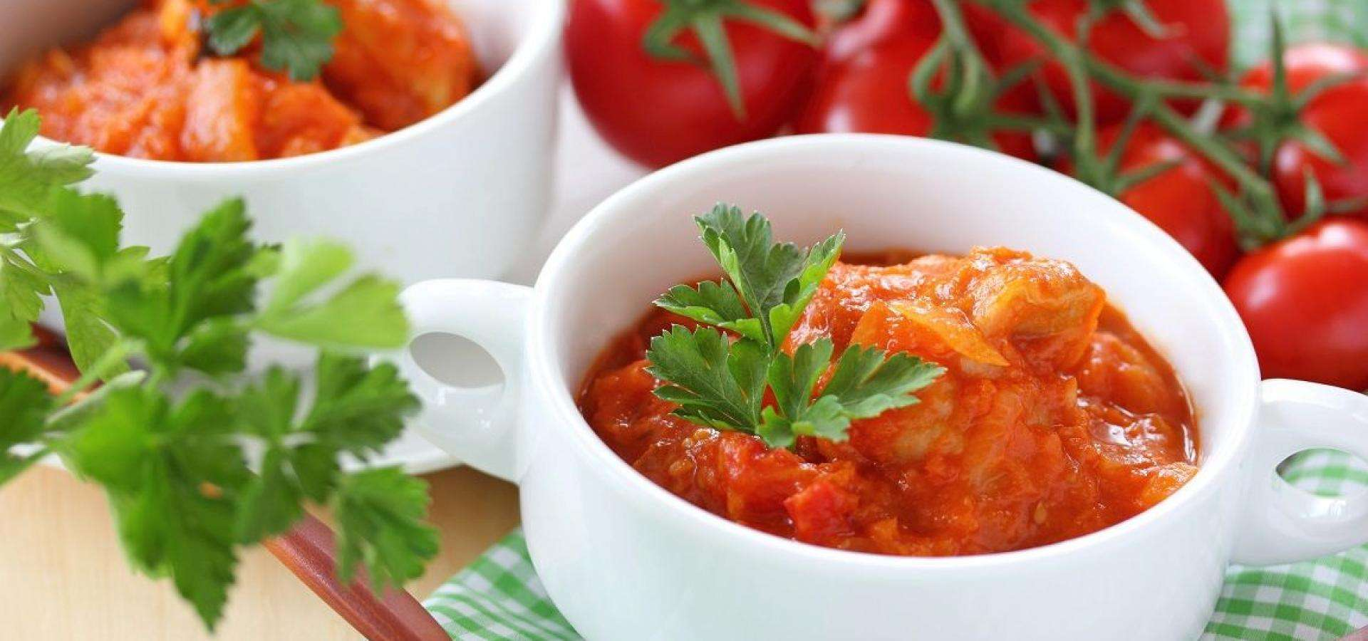 Receta de Ragú de tomate de Ed Brown