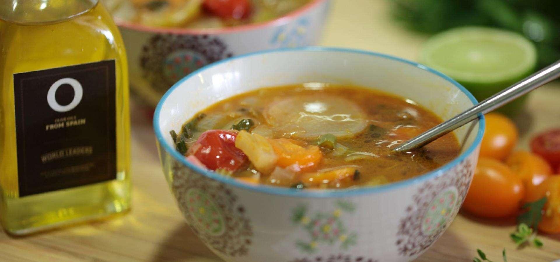 Receta de sopa depurativa