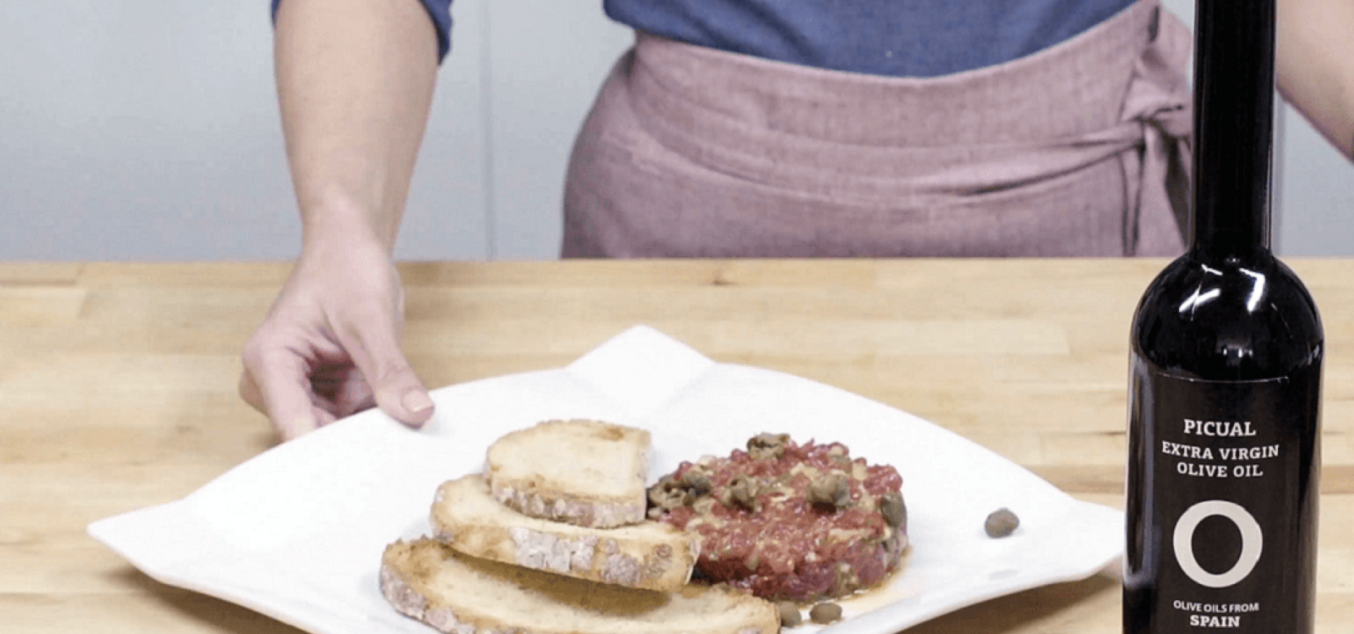Receta de Steak Tartar