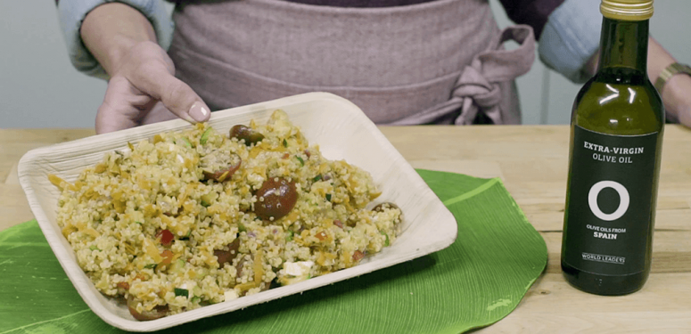 Ensalada de quinoa con hortalizas