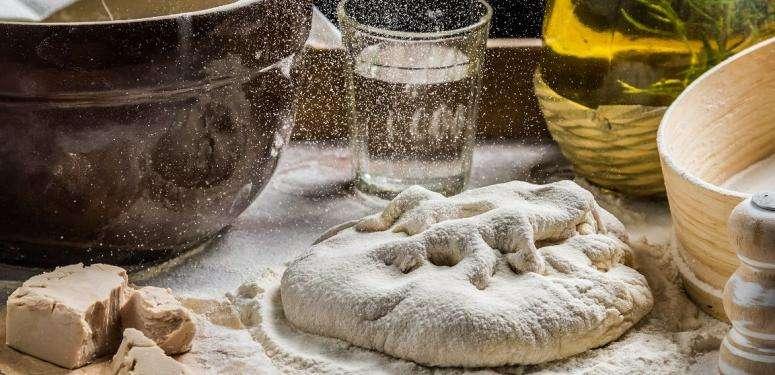 Receta de masa de harina integral para pizza