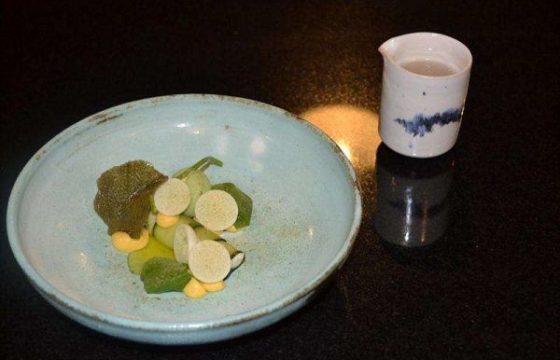 Tartar de dorada marinada «inspirada en Oriente»
