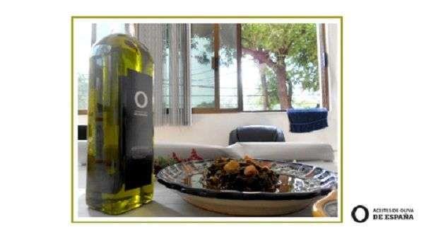 Romeritos con aceite de oliva