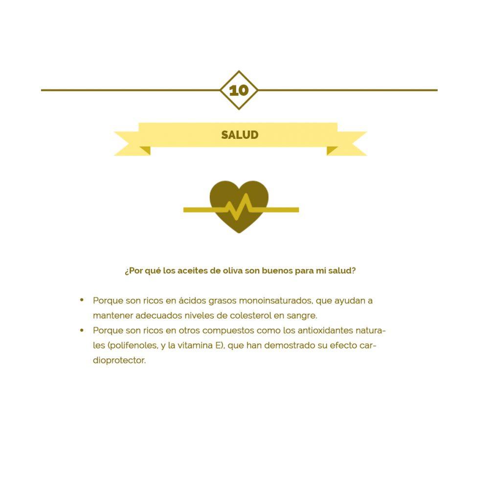 10 – Las 10 claves del aceite de oliva
