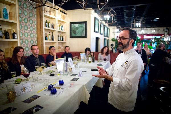 Chicago ha acogido una velada gastronómica en torno a los Aceites de Oliva