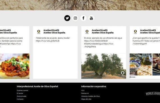 Aceites de Oliva de España llena de aroma y sabor las redes sociales de todo el mundo