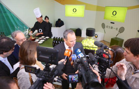 Aceites de Oliva de España y Rafael Nadal unen sus fuerzas en el China Open de Tenis