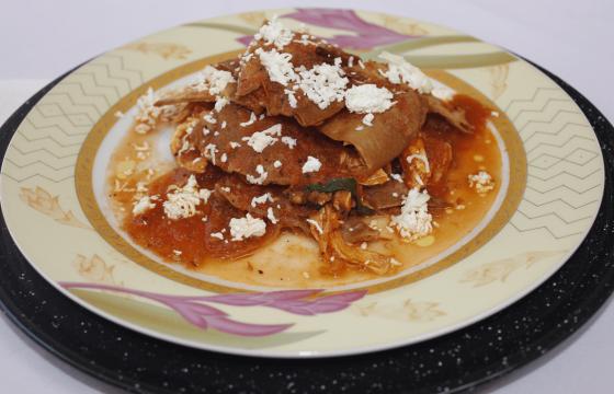 Chilaquiles güeros
