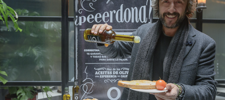 Los aceites de oliva, pilar fundamental en la cocina de Diego Guerrero
