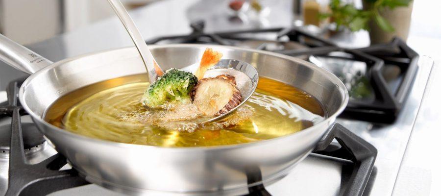 Técnicas culinarias con aceites de oliva: la fritura, mitos y leyendas
