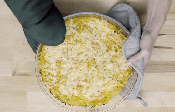 Pastel de patata y calabaza