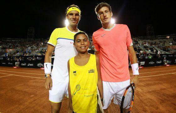 El torneo de tenis Rio Open de Brasil se viste de Aceites de Oliva de España