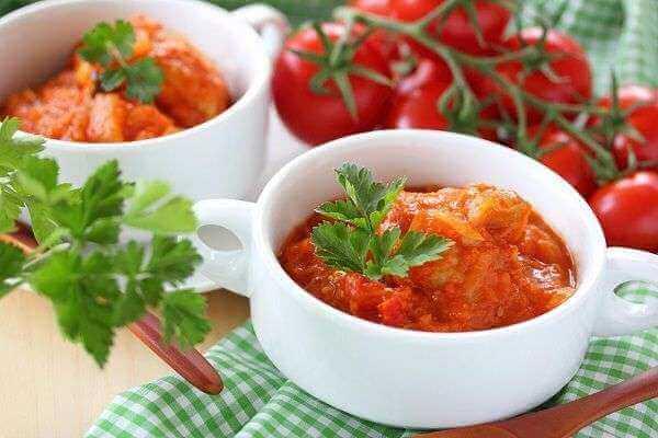 Ragu de tomate corazón de buey