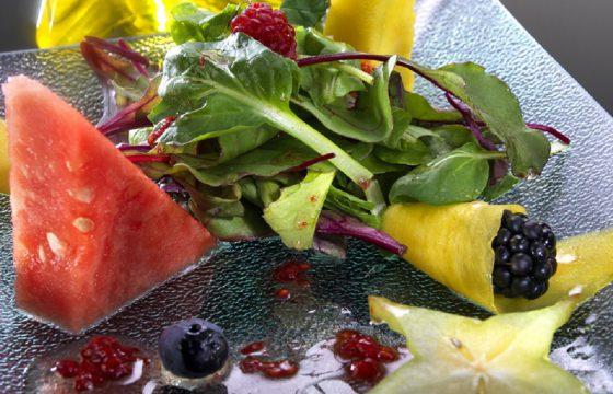 Ensalada de frutas de temporada