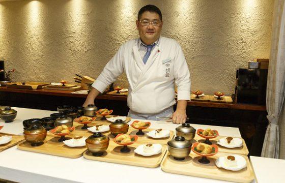 El chef Daisuke Nomura, embajador de la campaña Olive Oil World Tour en Japón