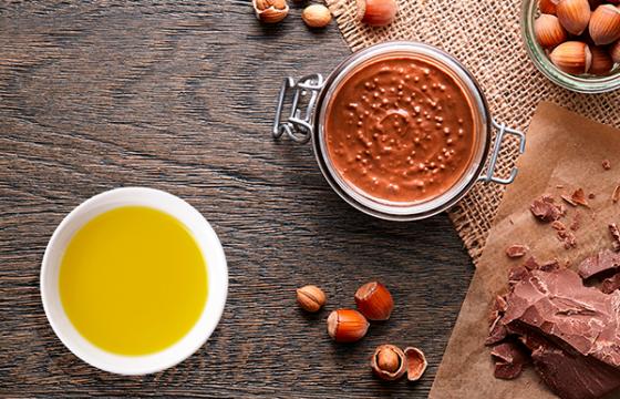 Crema de cacao con avellanas (Thermomix)