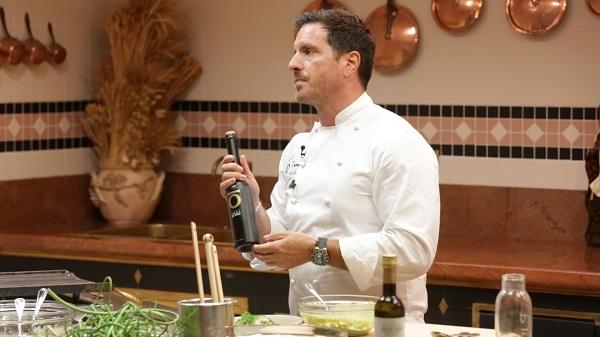 El chef Seamus Mullen realizó un taller culinario