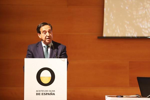 El presidente de la Interprofesional del Aceite de Oliva Español, Pedro Barato