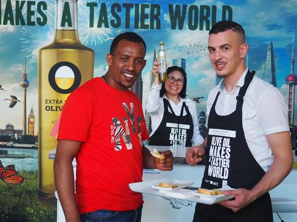 Olive Oil World Tour es una campaña global