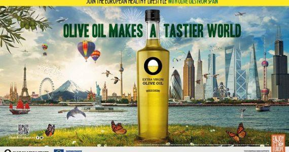 Campaña de promoción Olive Oil Makes a tastier World en Europa